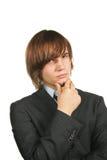 Giovane uomo d'affari bello immagini stock