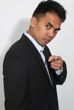 Giovane uomo d'affari Filipino fotografia stock