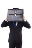 Giovane uomo d'affari isolato Fotografie Stock Libere da Diritti