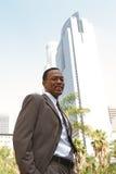 Giovane uomo d'affari sicuro fotografie stock libere da diritti
