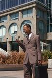 Giovane uomo d'affari sicuro fotografia stock