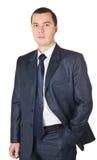 Giovane uomo d'affari in un vestito Immagini Stock