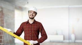 Giovane uomo dell'ingegnere 3d rendono Fotografia Stock Libera da Diritti
