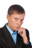 Giovane uomo di affari Fotografie Stock