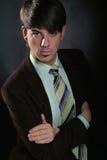 Giovane uomo di affari Immagini Stock