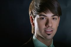 Giovane uomo di affari Fotografia Stock