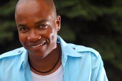 Giovane uomo di colore bello Immagine Stock