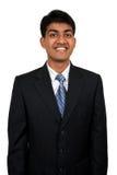 Giovane uomo indiano di affari fotografie stock