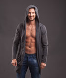 Giovane uomo sexy fotografia stock