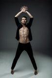 Giovane uomo sexy di modo fotografie stock libere da diritti