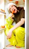 Giovane vegetariano Fotografie Stock Libere da Diritti