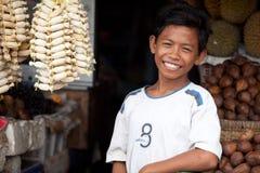 Giovane venditore Fotografia Stock Libera da Diritti
