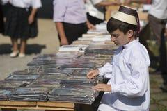 Giovane venditore Fotografia Stock