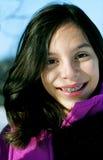 Giovane viandante femminile Fotografie Stock Libere da Diritti