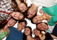 Giovani allegri Fotografie Stock