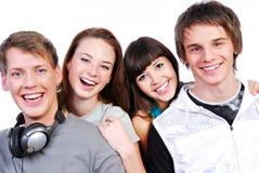 Giovani allievi attraenti Immagini Stock Libere da Diritti