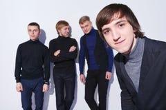 Giovani allievi maschii Fotografie Stock