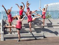 Giovani ballerini fotografie stock libere da diritti
