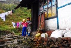 Giovani bambini asiatici Fotografie Stock Libere da Diritti