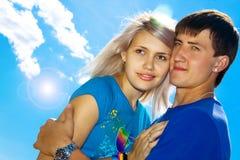 Giovani belle coppie Fotografie Stock Libere da Diritti