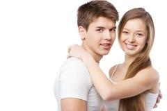 Giovani belle coppie Immagine Stock Libera da Diritti