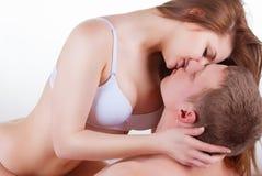 Giovani coppie sexy Immagine Stock Libera da Diritti