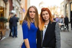Giovani belle donne Fotografia Stock Libera da Diritti