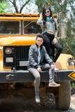 Giovani camionisti Fotografia Stock