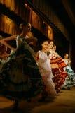 Giovani cantanti e casa del teatro dello studio dell'insieme dei bambini esemplari delle attrici di cultura nominata dopo Gorkij Fotografie Stock