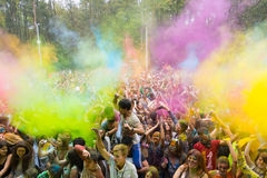 Giovani che hanno divertimento Fotografia Stock Libera da Diritti