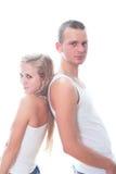 Giovani coppie amorose fotografia stock libera da diritti
