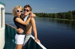 Giovani coppie amorose Fotografia Stock