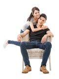 Giovani coppie asiatiche attraenti immagine stock libera da diritti