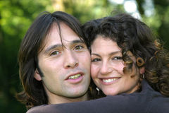 Giovani coppie attraenti Fotografia Stock Libera da Diritti