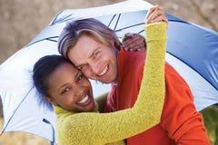 Giovani coppie attraenti Fotografie Stock Libere da Diritti