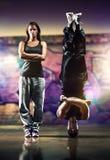 Giovani coppie dei ballerini Fotografia Stock