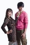 Giovani coppie dell'Asia Fotografia Stock