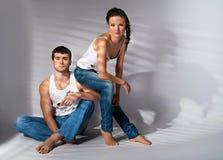 Giovani coppie in disaccordo Immagini Stock Libere da Diritti