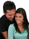 Giovani coppie felici Fotografia Stock