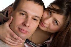 Giovani coppie felici. Immagine Stock Libera da Diritti