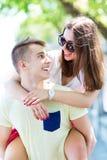 Giovani coppie felici Immagini Stock Libere da Diritti