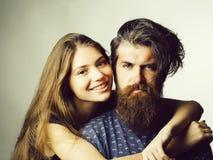 Giovani coppie graziose immagini stock