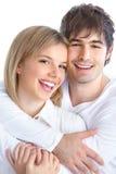 Giovani coppie nell'amore immagine stock