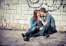 Giovani coppie nell'amore Fotografie Stock
