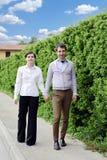 Giovani coppie romantiche Fotografia Stock Libera da Diritti