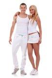 Giovani coppie sexy immagine stock