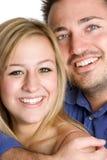 Giovani coppie sorridenti Fotografia Stock
