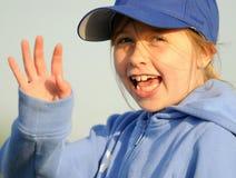 giovani d'ondeggiamento della ragazza fotografia stock