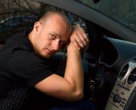 giovani del driver Fotografia Stock