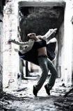 giovani della donna del danzatore Fotografia Stock Libera da Diritti